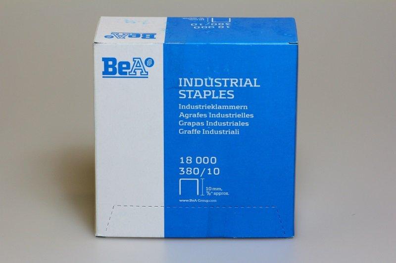 Klammer BeA 380/10 NK Schachtel = 18.000 Stück