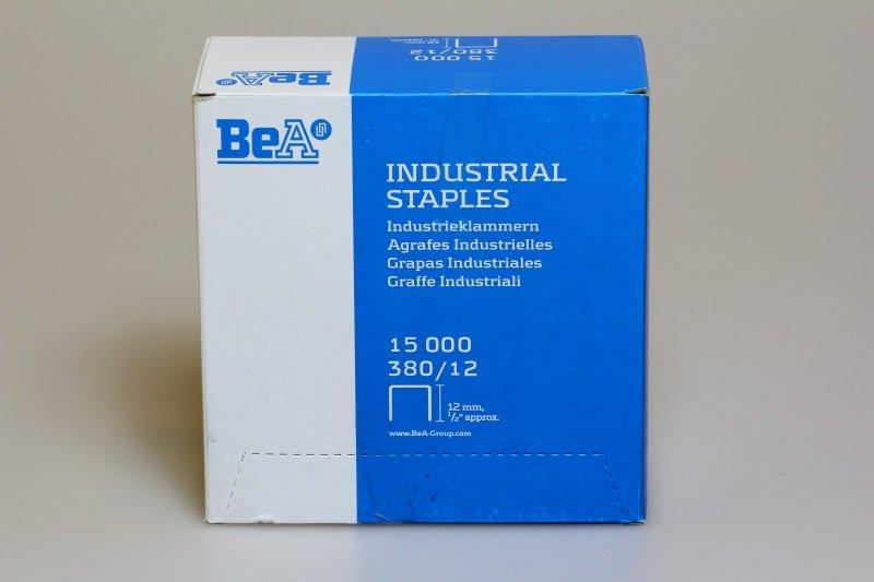Klammer BeA 380/12 NK Schachtel = 15.000 Stück