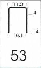 Klammer 53/10 NK Schachtel = 5.000 Stück