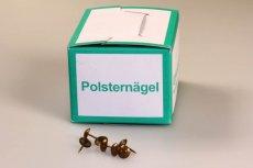Ziernägel 130 1/3 (11 mm) altgold gefleckt rötlich - 1.000 Stück
